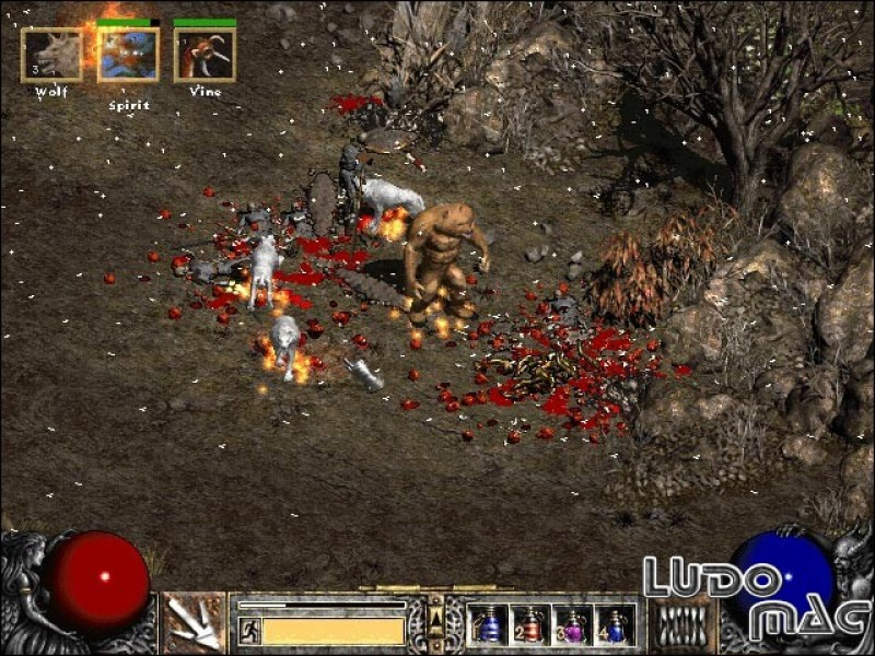 Скачать игру Diablo 2 Lord Of Destruction 1.13c License (2001) PC.